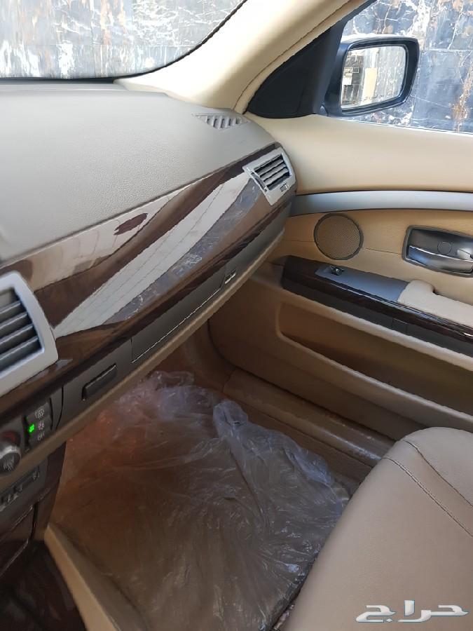 للبيع بي ام 730 2008  ماشي 150 الف نظيف جدا