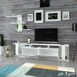 طاولة تلفزيون SHTV38 ابيض 574ريال سعودي