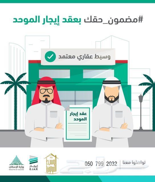 عقد إيجار الإلكتروني العقد الموحد سكني وتجاري