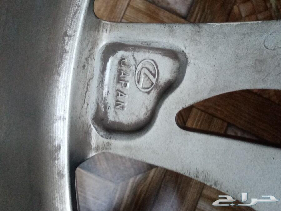 جنوط لكزس Ls350 مقاس 18 اصليه
