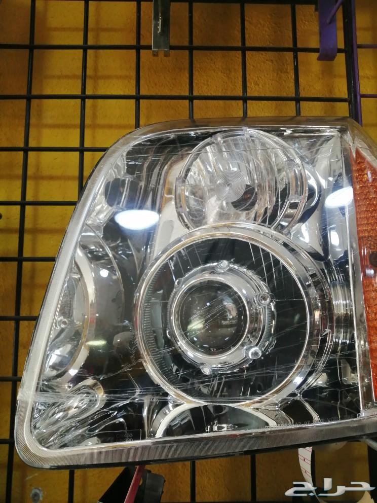 شمعات جمس يوكن 2008 مع عدسات كيو 5