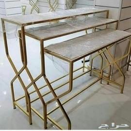 تفصيل طاولات حسب اطلب
