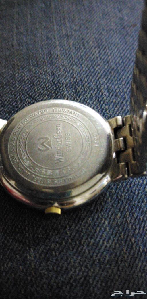 ساعة ماركة wnder Geenمرصعة الماس