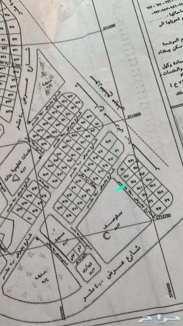 ارض للبيع في مخطط العاقول 9ف شارع 15 غربي
