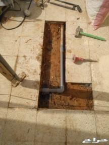 الكشف بالاجهزه عن تسريبات المياه فحص