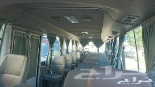 للايجار باصات كوستر 30راكب مع سائق