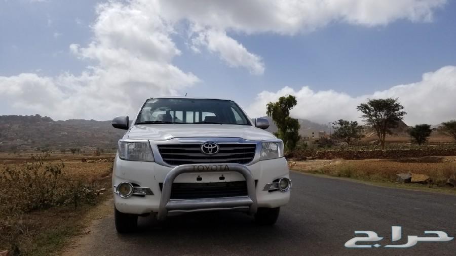 هيلوكس 2013 سعودي رقم2 في اليمن
