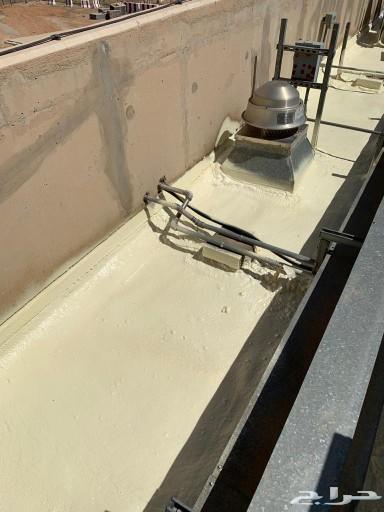 عزل فوم مائي وحراري عزل خزانات كشف تسربات الم