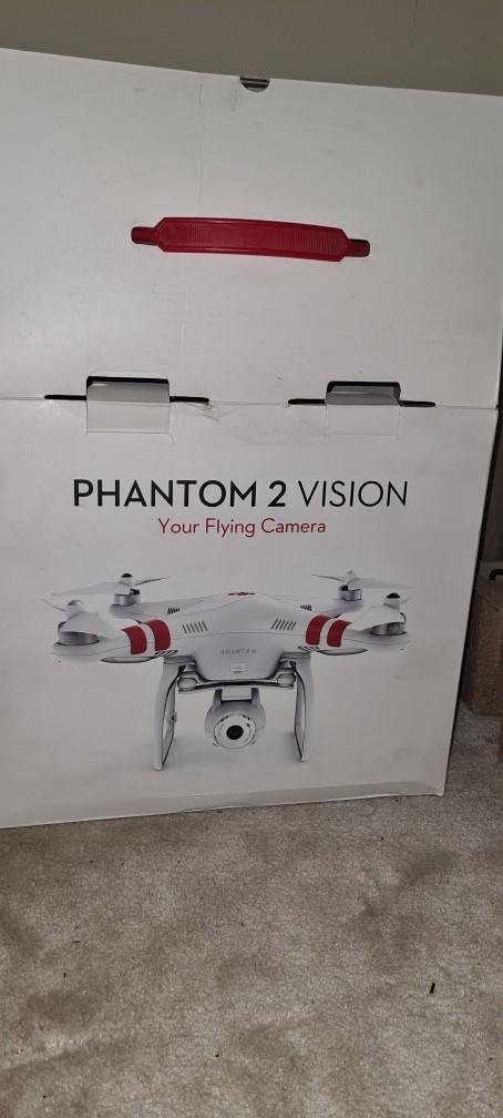 درون طائرة فانتوم2 Phantom 2 Vision plus