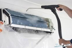 تنظيف خزانات بالمواد التعقيم