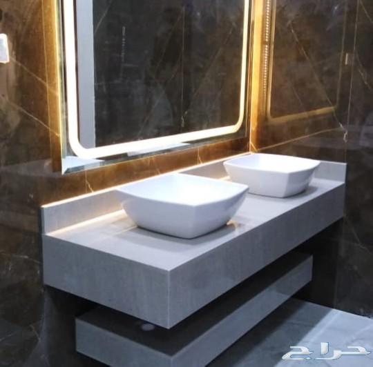 أحدث تصاميم للمغاسل الرخاميه طبيعي وصناعي