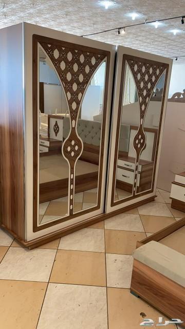 غرفة نوم تركية 9قطع ومرتبة هدية بسعر مميز