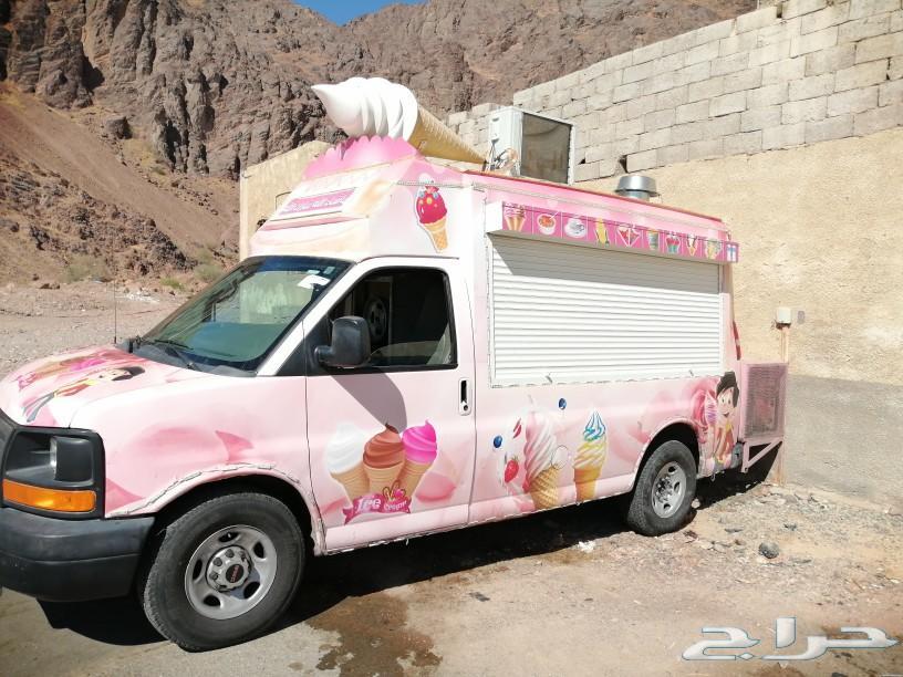 سيارة ايس كريم للبيع 2012