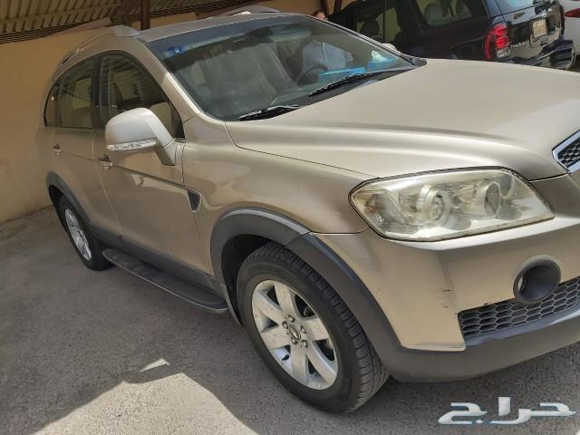 سيارة كابتيفا ذهبى 2007