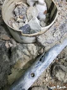 كشف تسربات المياه الكترونيا مع تقرير معتمده