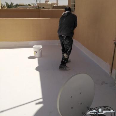 كشف تسربات المياه عزل الأسطح خزانات فوم