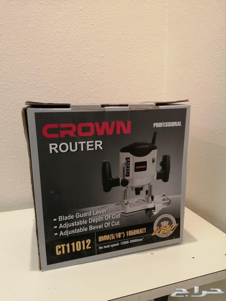 راوتر نجارة (نحت) CROWN CT11012
