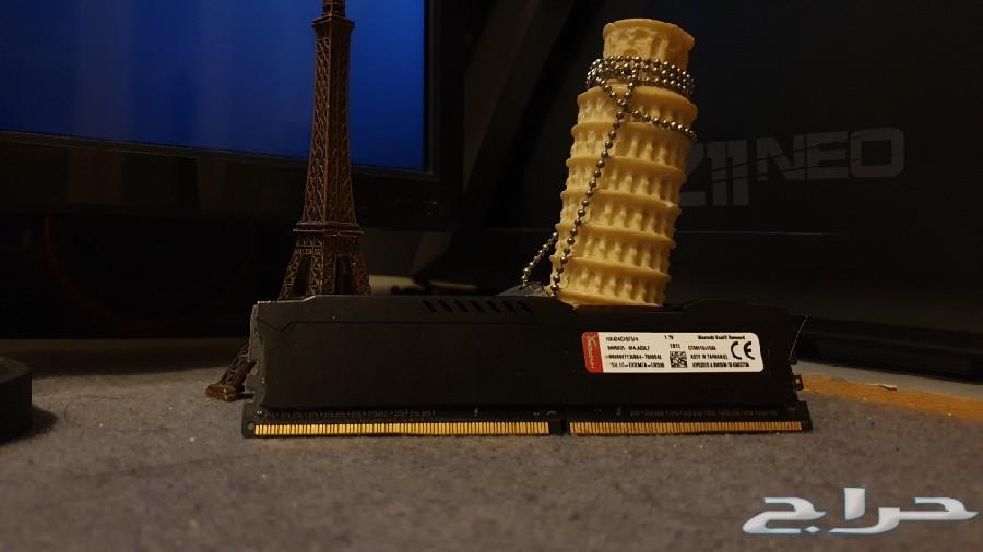 رام 4 قيقا 4gb ram hyper x كمبيوتر