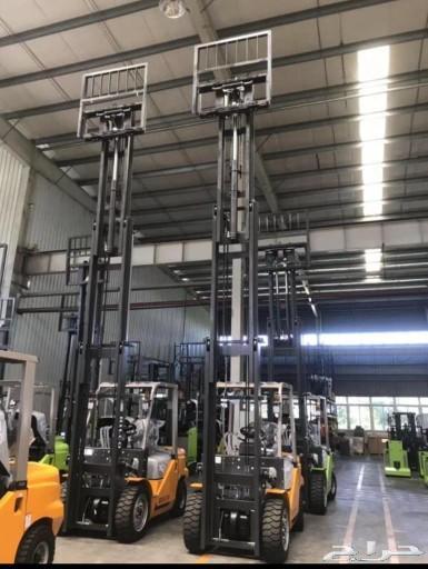 للبيع رافعات شوكية هيلكو 3 طن ارتفاع 5 متر