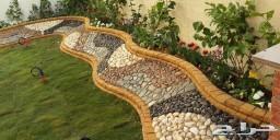 تنسيق حدائق وتركيب شبكات الري والزراعة